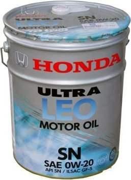 Моторное масло HONDA Ultra LEO-SN, 0W-20, 20л, 08217-99977