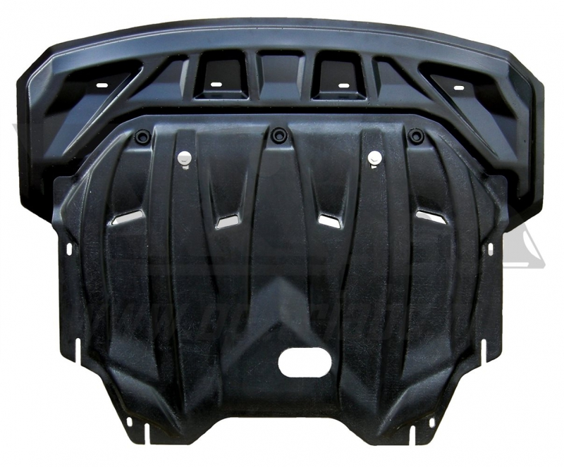 Защита картера двигателя и кпп Hyundai I40 V-все, (2012-) (Композит 6 мм), 1010K