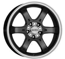 Колесный диск Dotz Crunch 8x16/6x139,7 D71.6 ET35 черный полированный (BKF/P)