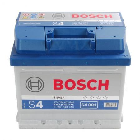 Аккумуляторная батарея Bosch, S4 Silver, 12 В, 44 А/ч, 440 А, 0092S40010
