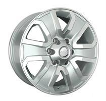 Колесный диск Ls Replica TY188 7.5x18/6x139,7 D106.1 ET25 серебристый , полированнная лицевая сторон