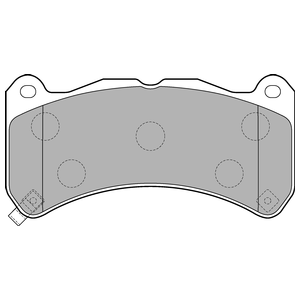 Колодки дисковые, DELPHI, LP2211