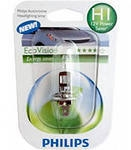 "Лампа ""EcoVision"", 12 В, 55 Вт, H1, P14,5s, PHILIPS, 12258 ECOB1"