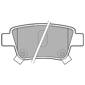 Колодки дисковые, DELPHI, LP1785
