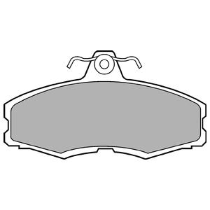 Колодки дисковые, DELPHI, LP250