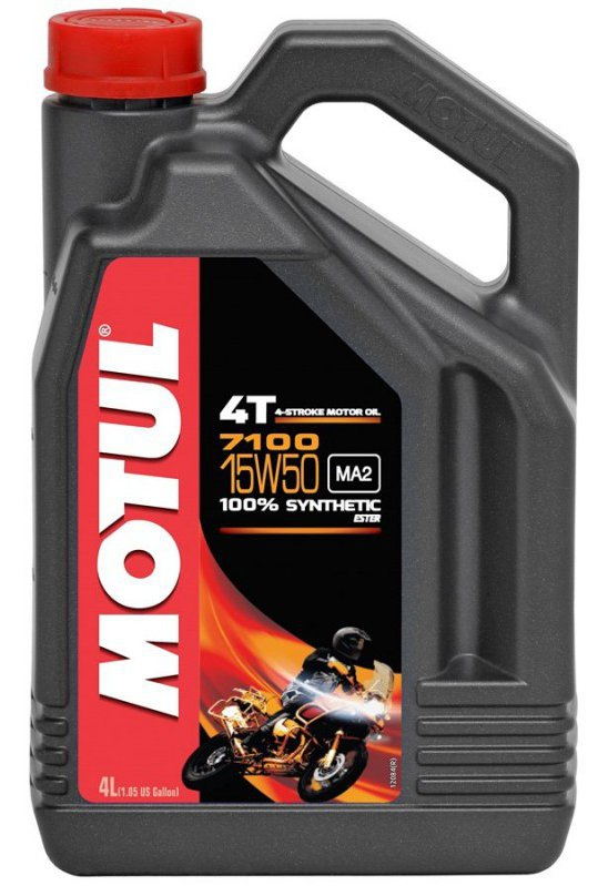 Моторное масло MOTUL 7100 4T, 15W-50, 4л, 104299