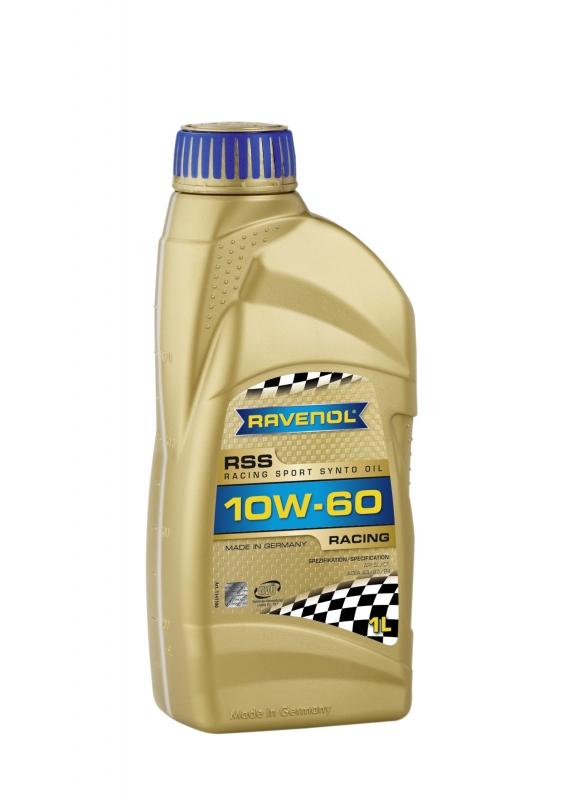 Моторное масло RAVENOL Racing Sport Synto, 10W-60, 1л, 4014835726710