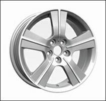 Колесный диск Ls Replica SB11 6.5x16/5x100 D56.1 ET48 серый глянец, полированнные спицы и обод (GMF)