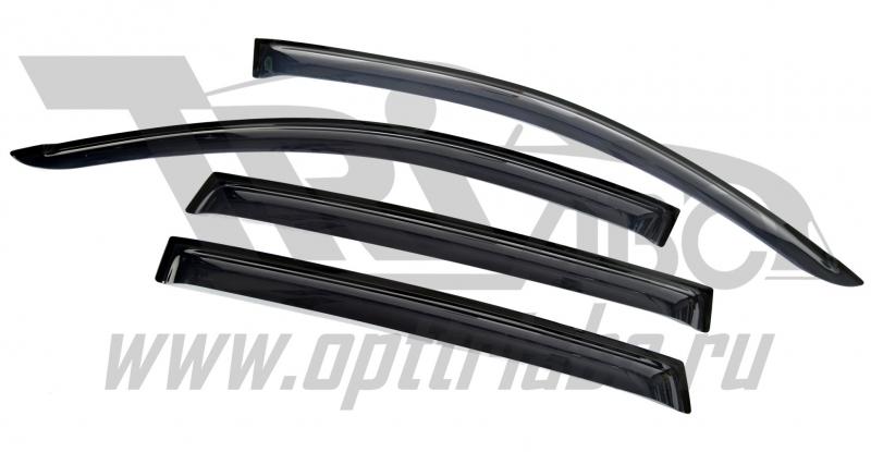 Дефлекторы боковых окон Renault Koleos (2008-) (4ч) (темный), SREKOL0832