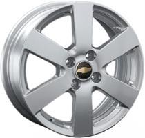 Колесный диск Ls Replica GM41 6x15/4x100 D56.6 ET45 серебристый (S)