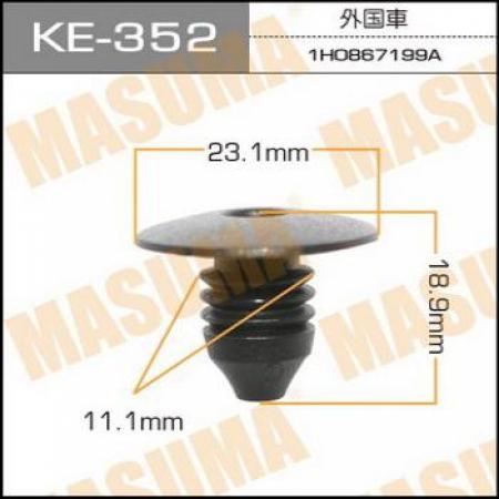 Клипса автомобильная (автокрепеж) MASUMA, KE352