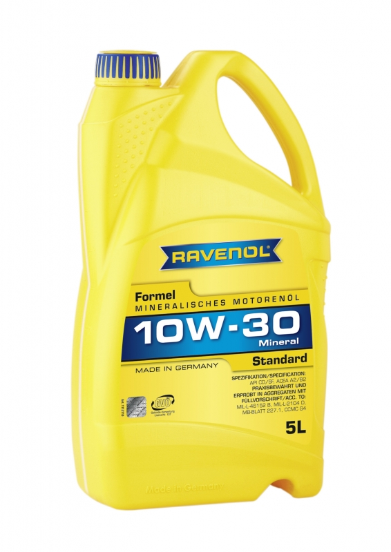 Моторное масло RAVENOL Formel Standard, 10W-30, 5л, 4014835724655