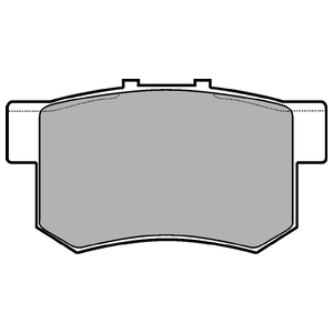 Колодки дисковые, DELPHI, LP948