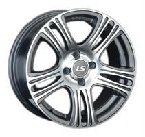 Колесный диск LS Wheels 318 6.5x15/4x100 D73.1 ET40 темно-серый полированный (GMF)