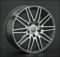 Колесный диск Ls Replica A40 8x18/5x130 D63.3 ET56 серый глянец, полированнные спицы и обод (GMF)