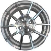 Колесный диск NZ F-24 6x15/5x105 D56.6 ET39 серебристый полностью полированный (SF)