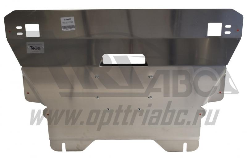 Защита картера двигателя и кпп Ford Kuga V-1.6; 2,0D(2013-) (Алюминий 4 мм), 0809ABC