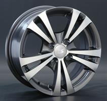 Колесный диск LS Wheels LS 139 6x14/4x100 D56.6 ET40 серый матовый полностью полированный (GMF)