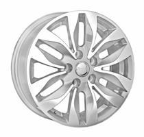 Колесный диск Ls Replica SZ31 6.5x16/5x114,3 D67.1 ET45 серый глянец, полированнные спицы и обод (GM