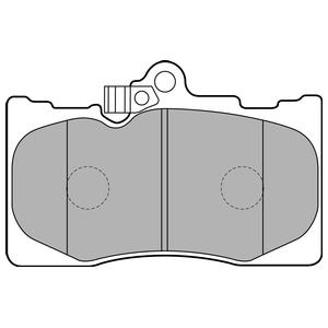Колодки дисковые, DELPHI, LP2122