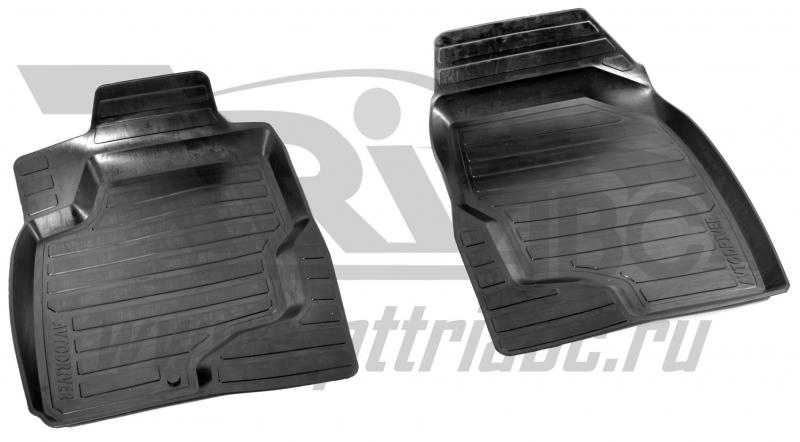 Коврики салона резиновые с бортиком для Lexus RX350 (2009-) (2 передних), ADRAVG1522