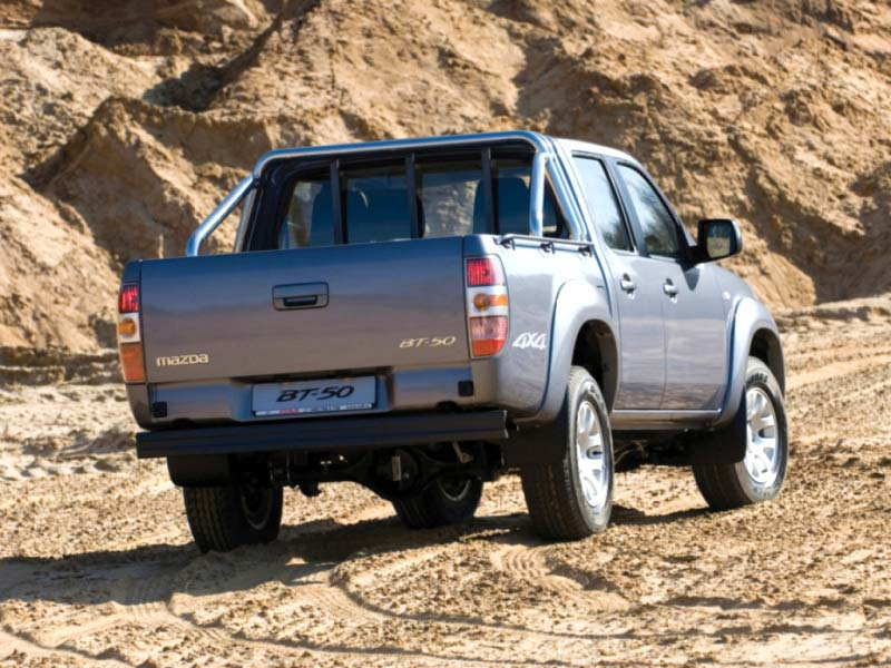 Фаркоп Mazda (Мазда) BT-50 / FORD RANGER (2007-2011) без электрики, БАЛТЕКС, 12160837