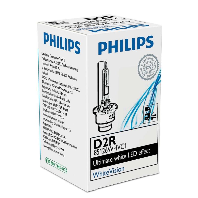 Лампа, 85 В, 35 Вт, D2R, P32d-3, PHILIPS, 85126WHVC1