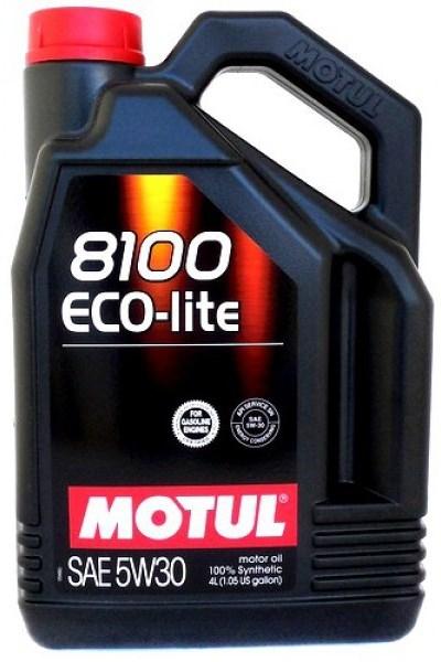 Моторное масло MOTUL 8100 Eco-lite, 5W-30, 4 л, 104988