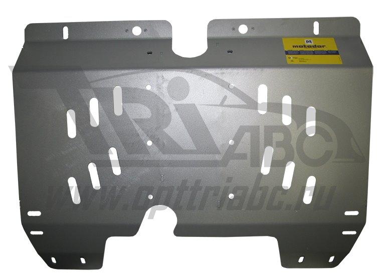 Защита бензобака Land Rover Freelander II 2006- V=2,2TD (алюминий 5 мм), MOTODOR33202