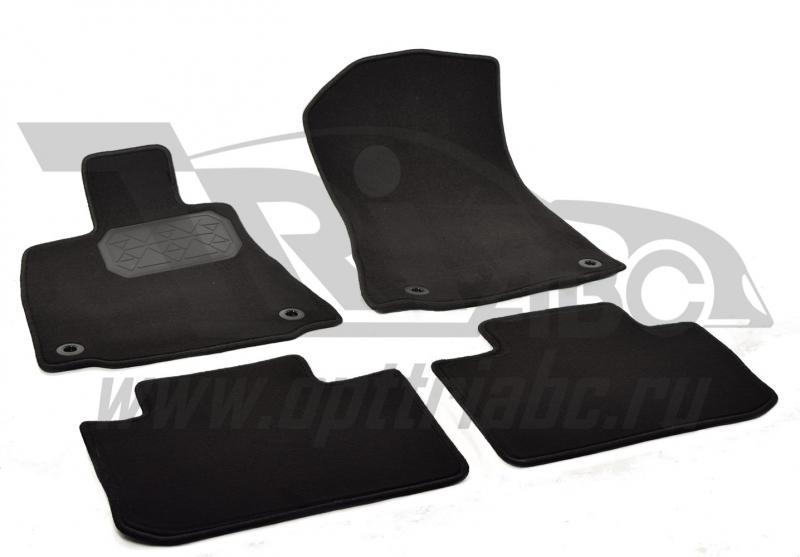 Коврики салона текстильный Lexus IS 250 (2013-) (Велюр, полиамид)(подпятник п/у)(черные), NPA00VTE47