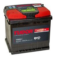 Аккумулятор TUDOR Technica 50 А/ч TB501. 207x175x190 EN 450