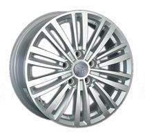 Колесный диск Ls Replica VV136 6.5x16/5x112 D58.6 ET42 серебристый , полированнная лицевая сторона д