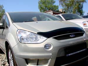 Дефлектор капота Ford S-Max (2006-) (темный), SFOSMA0612