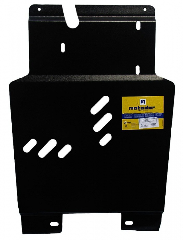 Защита картера двигателя, ПДФ, КПП, РК, радиатора Ford Explorer IV 2005-2010 V=4,0 (сталь 2 мм), MOT