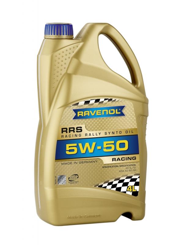 Моторное масло RAVENOL Racing Rally Synto, 5W-50, 4л, 4014835726994