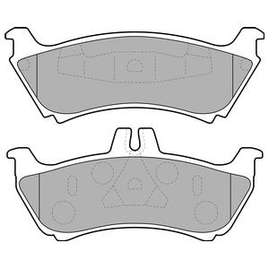 Колодки дисковые, DELPHI, LP1692