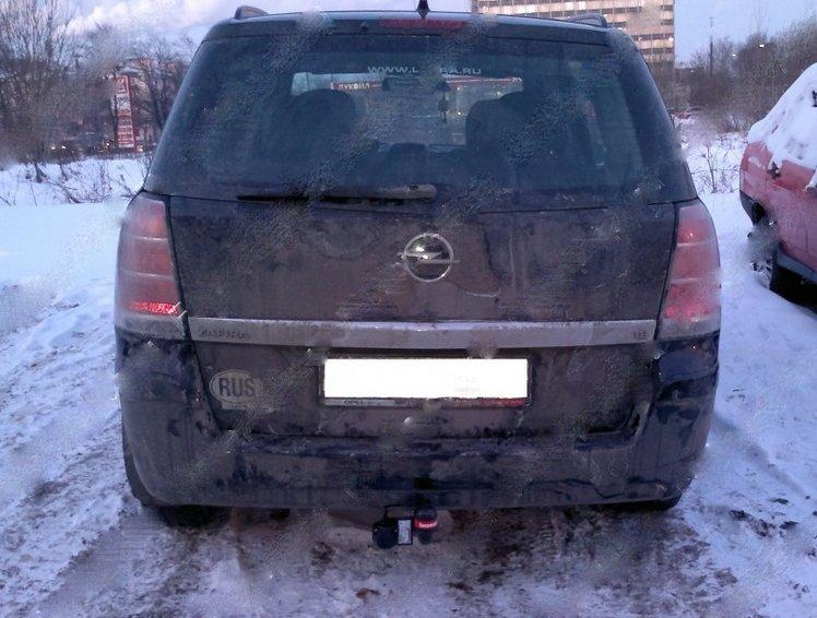 Фаркоп для Opel Zafira B minivan (2005-2011) без электрики,, BOSAL, 1175A