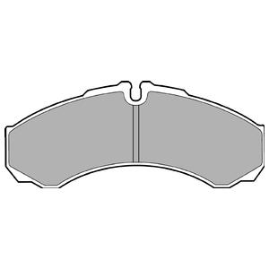 Колодки дисковые, DELPHI, LP1616