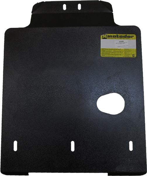 Защита картера АКПП Subaru Outback II (BE,BH) 1999-2004 V=2,5 3,0 (сталь 2 мм), MOTODOR02228