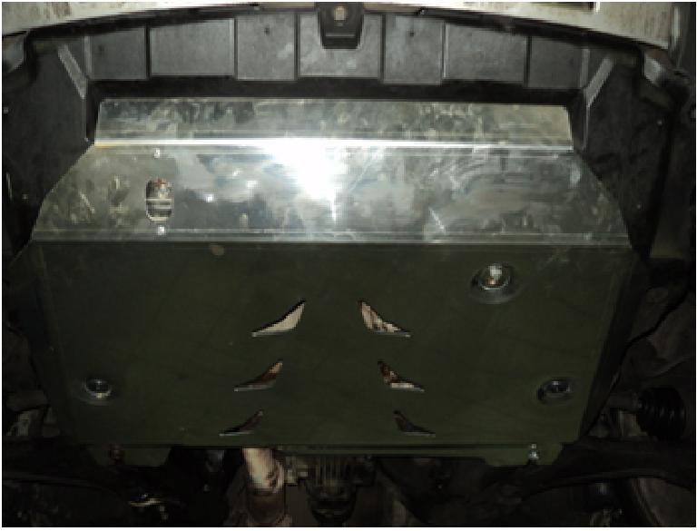 Защита картера двигателя и кпп Chevrolet Captiva (Шевроле Каптива) V-все (2006-11) / Opel Antara (Оп