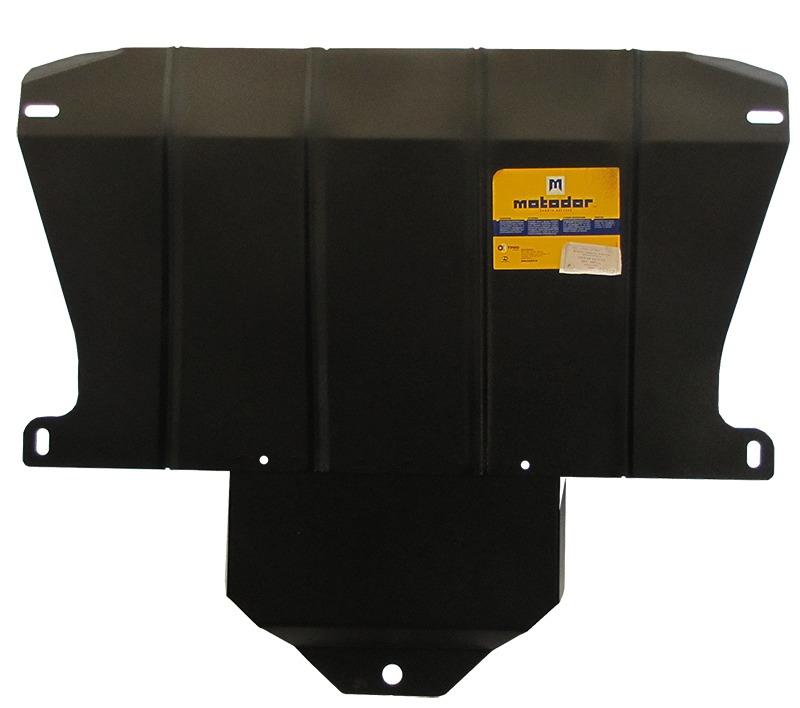 Защита картера КПП JAGUAR XJ (X350, X358) 2003-2009 V=3,1 (сталь 2 мм), MOTODOR05802