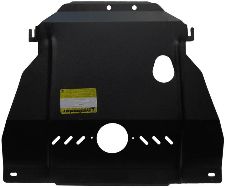 Защита картера двигателя, КПП Chevrolet Cobalt 2013- V=1,5i , из 2 частей(сталь 3 мм), MOTODOR03035