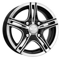 Колесный диск Кик ОМАХА АЛМАЗ 5.5x14/4x100 D65.1 ET38 black