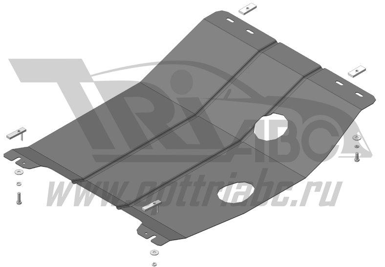 Защита картера двигателя, КПП Haima M3; V=1,5; МКПП; c 2013 г.в. ; Стандарт, MOTODOR64902