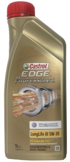 Моторное масло CASTROL EDGE Professional LL III Titanium FST, 5W-30, 1л, 15090F