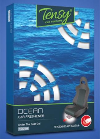 """Ароматизатор Tensy гелевый """"Океан"""" с тестером запаха, TDD04"""