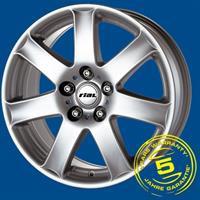 Колесный диск Rial Flair 6x15/5x100 D65.1 ET38 серебро