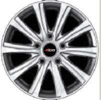 Колесный диск 4go XS210 6.5x16/5x114,3 D73.1 ET50 тёмно-серый с алм.обр.лиц.поверх (GMMF)