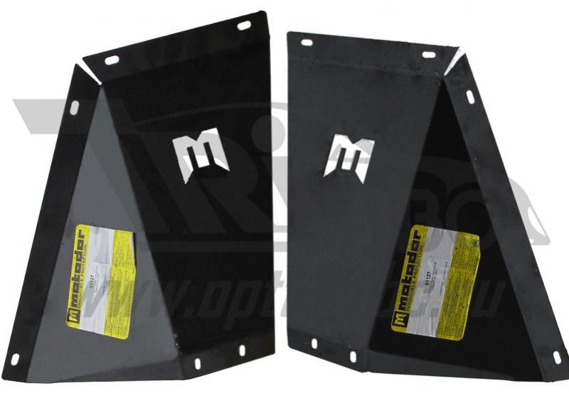 Защита боковины радиатора Mazda Pickup BT-50 2006-2012 V=2,5TD (сталь 2 мм), MOTODOR01127