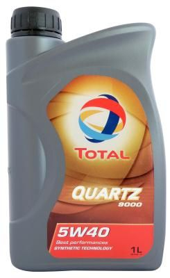 Моторное масло TOTAL QUARTZ 9000, 5W-40, 1л, RO168034